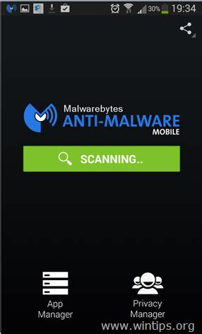 virus scan android how to scan and clean your android device from adware virus malicious apps wintips org