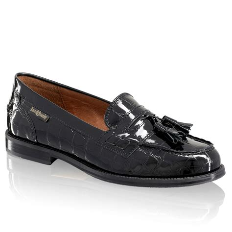 and bromley patent loafers keeler tassel loafer in black patent bromley