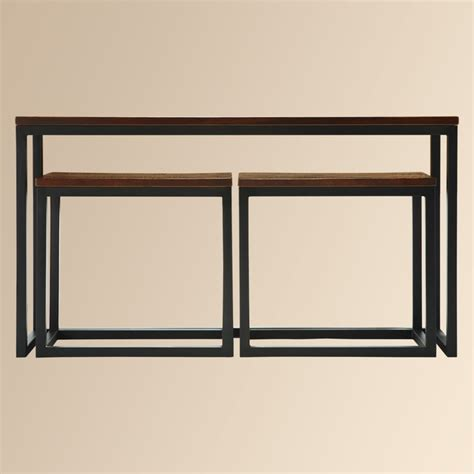 arhaus palmer coffee table palmer nested console table by arhaus for the home