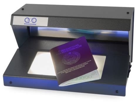 Uv Desk L by Detectadoc L Dual Function Document Viewer Aco Electronics