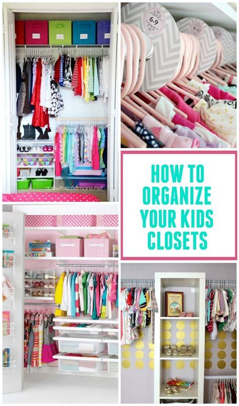kids room organization ideas kid closet closet organization and organization ideas on