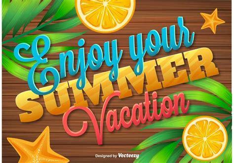 Enjoy Summer enjoy summer vacations wooden background free