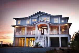 Beach House Exterior Ideas by Beach House With Casual Coastal Interiors Home Bunch