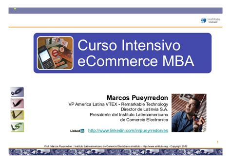 Mba In Ecommerce In Usa by Curso Intensivo De Ecommerce Comercio Electronico