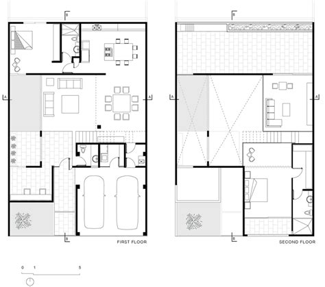 first floor plan uplifting urban house in canc 250 n displaying a contemporary