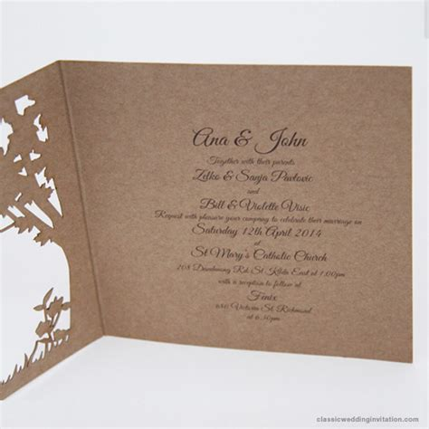 wedding invitations perth western australia wedding invitations australia laser cut design
