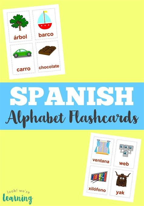 alphabet flash kids spanish 24 best montessori in spanish images on preschool activities activities for