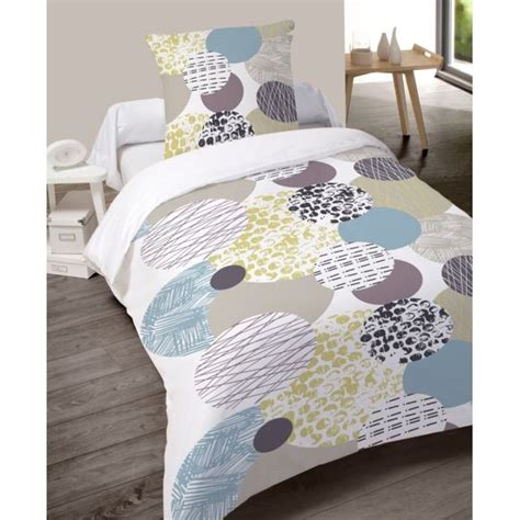 Housse Couette Flanelle by Dourev Housse De Couette Flanelle 140x200 1 Taie Fralu