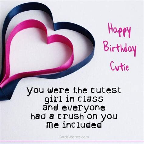 birthday gift for crush birthday wishes for a crush cards wishes