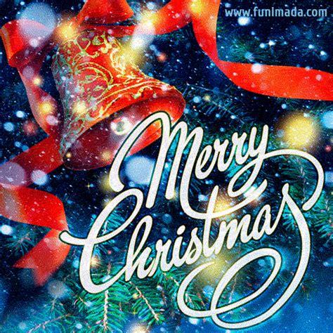 decorated christmas tree     animated christmas card   funimadacom