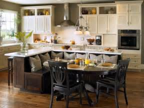 kitchen bench ideas built in kitchen island with seating