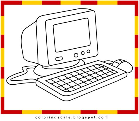 Computer Printable Coloring Pages Coloring Pages On The Computer
