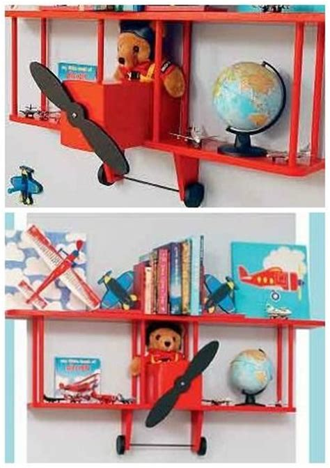 bi plane wall shelf bookcases bookshelves children s bi plane wall shelf airplanes bookshelves and kids rooms