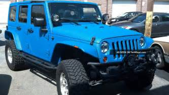 2012 Jeep 4 Door Wrangler 2012 Jeep Wrangler Unlimited 4 Door 3 6l Kevlar Finish