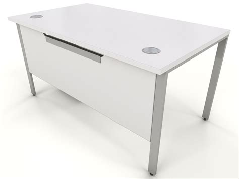 white bench desk icarus office furniture