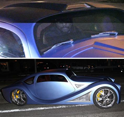 Handmade Car Brands - will i am takes his brand new 900 000 custom whip for a