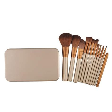 make up brush 12 set with tin kuas make up jakartanotebook