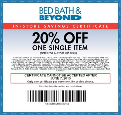 In Store Coupon Bed Bath And Beyond by Bed Bath And Beyond Coupons And Printable Coupons Bed