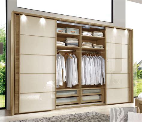 Kleiderschrank Mit Einlegeböden by Schwebet 252 Ren Kleiderschrank In Eiche Dekor Mit Glasfront