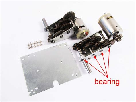 aliexpress buy mato 4 0 steel 5 1 gearbox with bearings for 1 16 mato 1 16 1 16100 metal