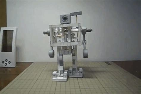 Mechanical Papercraft - papercraft gifs wifflegif