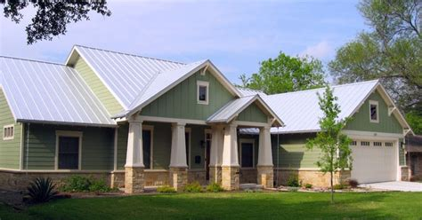 light metal roof light metal roof green siding trim lake house