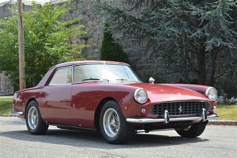 Interior Paint Used Outside 1960 Ferrari 250gt Pinin Farina Coupe Stock 20450 For