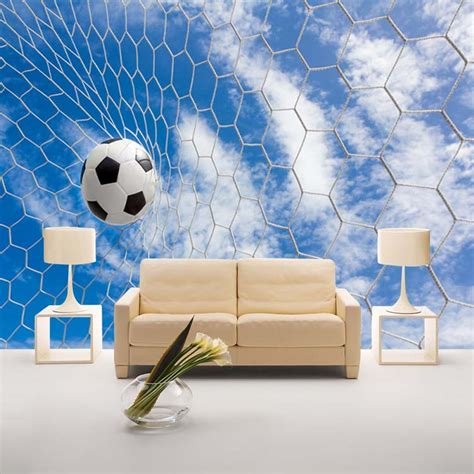 wholesale wall murals wholesale 3d photo mural football wallpaper murals sofa background soccer wall paper mural