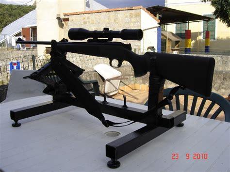 Comment Rembourrer Un Banc by R 233 Glage Carabine Support De Tir Chevalet Fait Maison 0