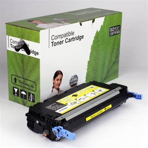 Toner Q7582a Dakota Ink And Toner 187 Hp Compatible Yellow Toner Q7582a