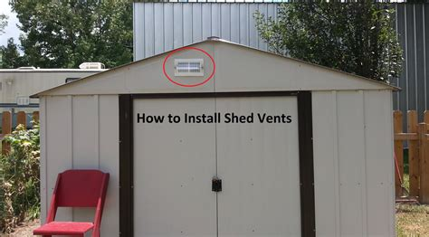 vent  shed diy step  step youtube