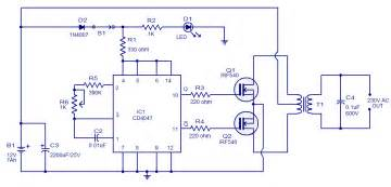 dc power to ac inverter wiring diagram get free image about wiring diagram