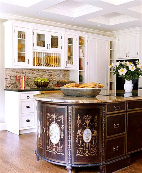 oval kitchen islands kitchen updates that pay back traditional home