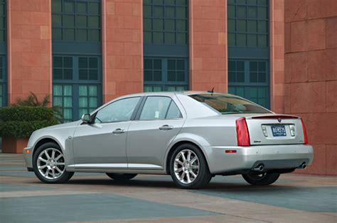 used 2005 cadillac sts 2005 11 cadillac sts consumer guide auto