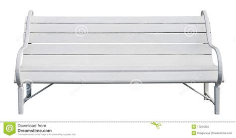 white park bench white park bench cutout royalty free stock photo image 17264255