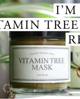 I M From Vitamin Tree Mask Im vitamin c serum ost original vitamin c20 review