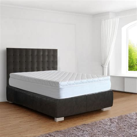 Springbox Bed by Springbox Bed King Size Bed Box 180x200 Cm Grey And Green Rufadesso Kts