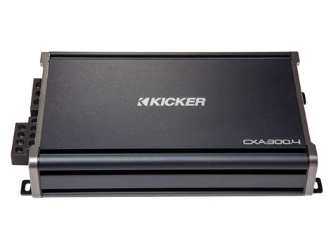 Kickers Limited 4 kicker 43cxa3004 4 channel cx series cxa300 4 class d 300 watt range car audio