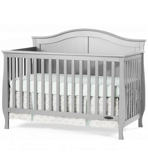 Child Craft Camden 4 In 1 Convertible Crib Cool Gray Gray Convertible Crib