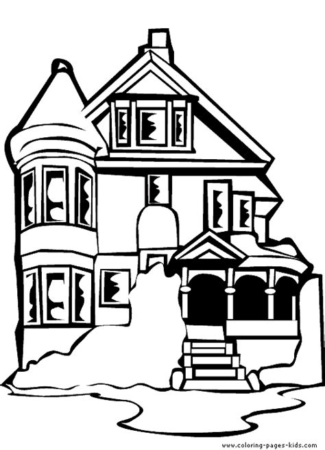 Coloring Page Up House by Free Coloring Pages Of Houses