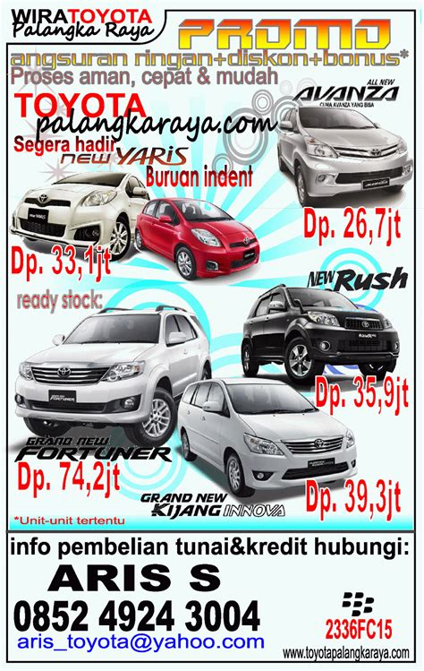 2015 Toyota Agya 1 0 G Mt Terbaik wira toyota palangkaraya harga avanza innova fortuner