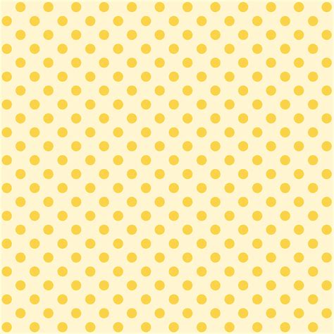 seamless yellow polka dot background paper stock illustration