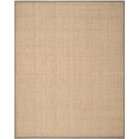 10 by 10 fiber rug safavieh fiber beige grey 10 ft x 14 ft area rug