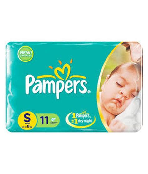 Disposable Diapers X S M L pers disposable diapers s upto 8 kg 11pads set of 3