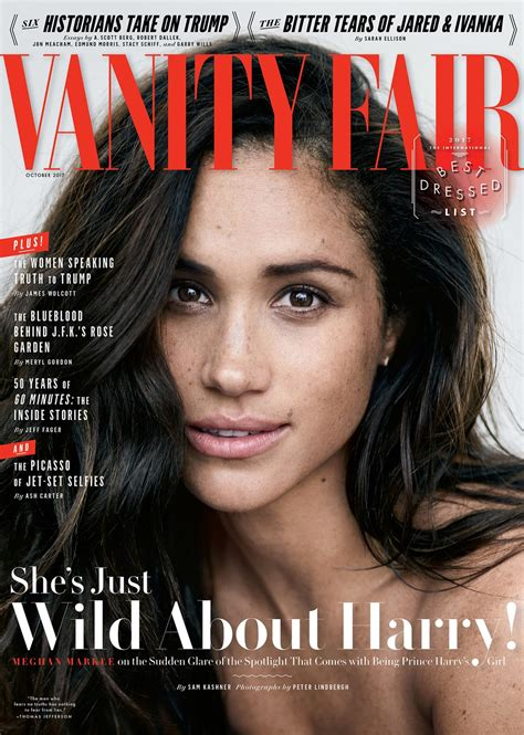meghan markle on the october 2017 cover of vanity fair
