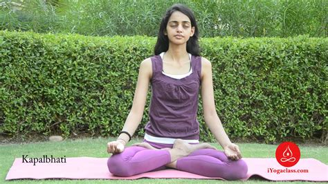 Kapalabhati Pranayam by Kapalbhati Pranayama For Weight Loss