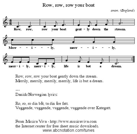 row row your boat on recorder abc row row row your boat trillian mit edu jc music