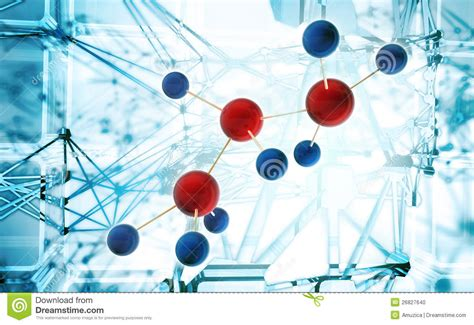 abstract science background stock illustration image