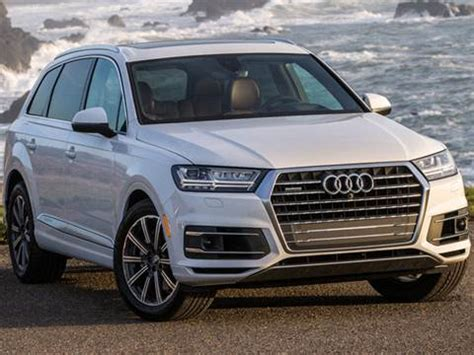 2018 Audi Q7 Pricing Ratings Reviews Kelley Blue Book