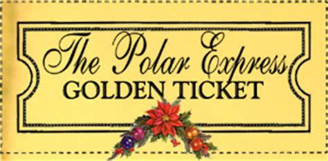 Polar Express Golden Ticket Template by Polar Express Golden Ticket Free Template Search Results